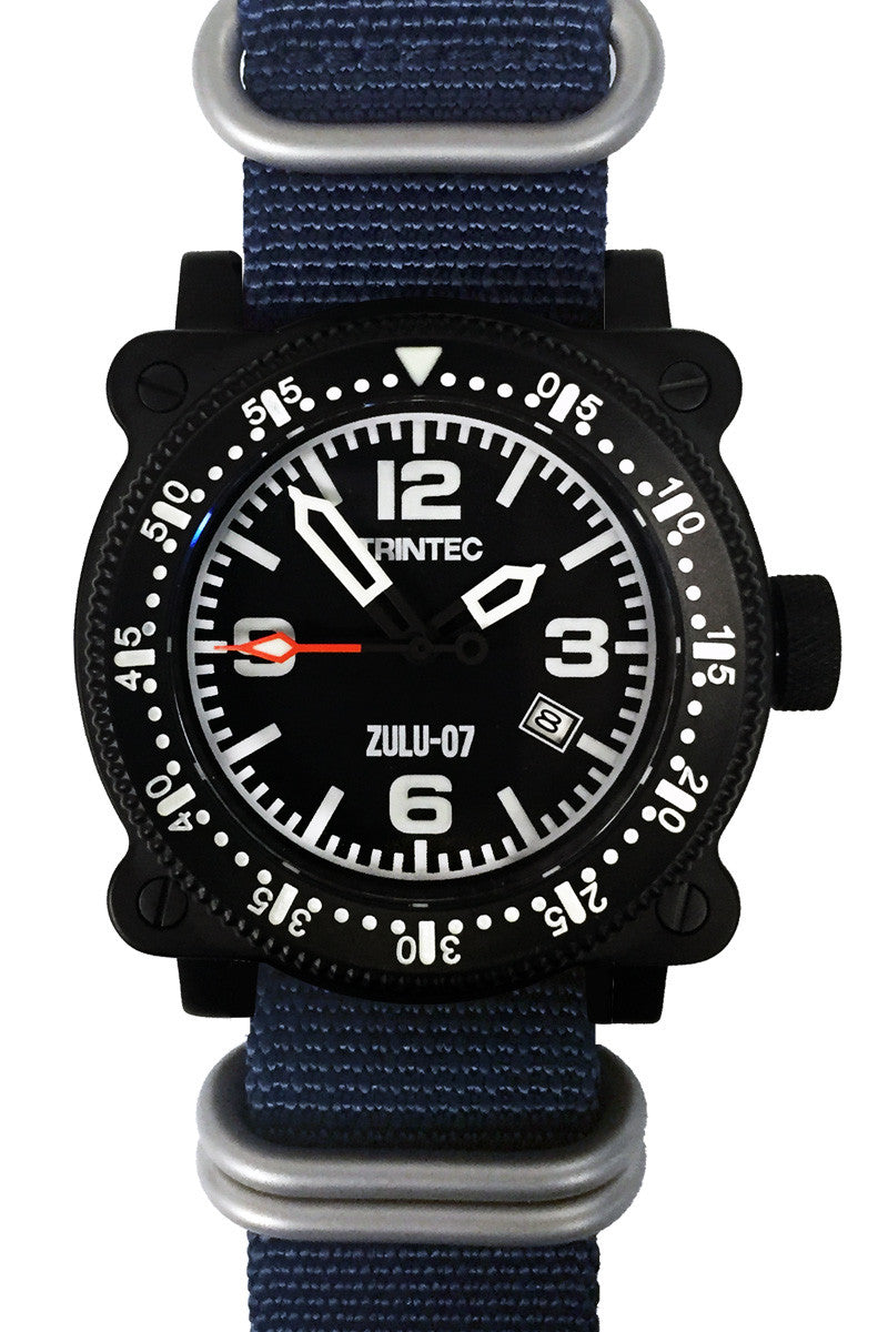 ZULU-07 PRO / Black/Blue / Automatic - Trintec Industries Inc.