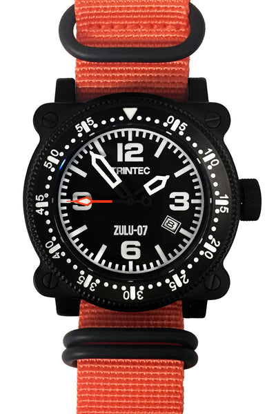 ZULU-07 PRO / Black/Orange / Automatic