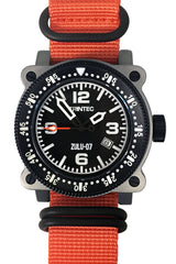 ZULU-07 PRO / Stainless/Orange / Automatic - Trintec Industries Inc.