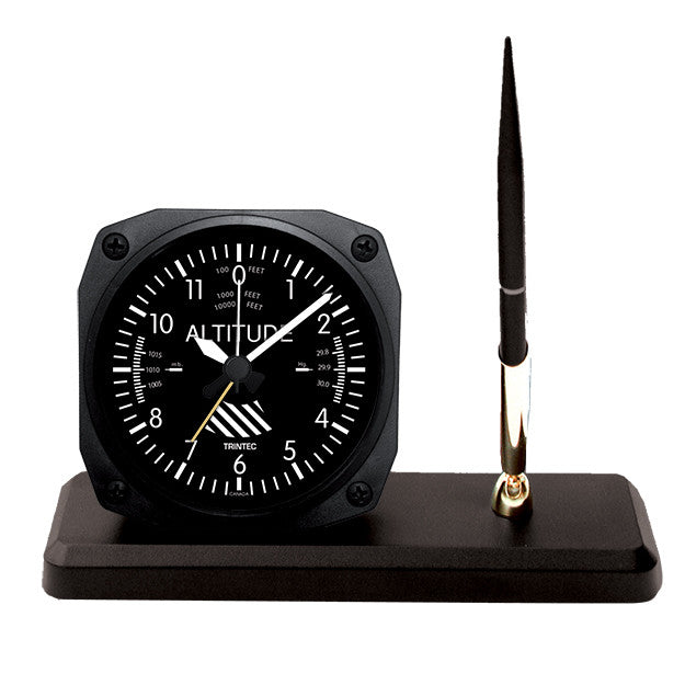 Classic Altimeter Desk Pen Set