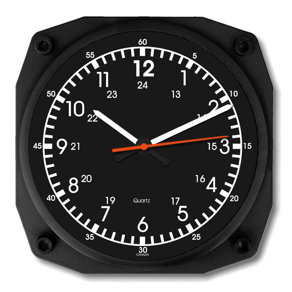 "6"" Emergency Vehicle Clock"