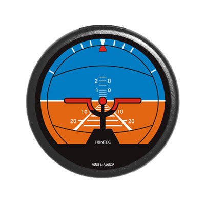 "2"" Classic Artificial Horizon Round Fridge Magnet"