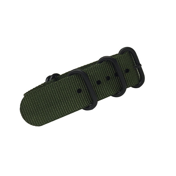 Green Military Style Watch Strap (22 MM Only) - Trintec Industries Inc.