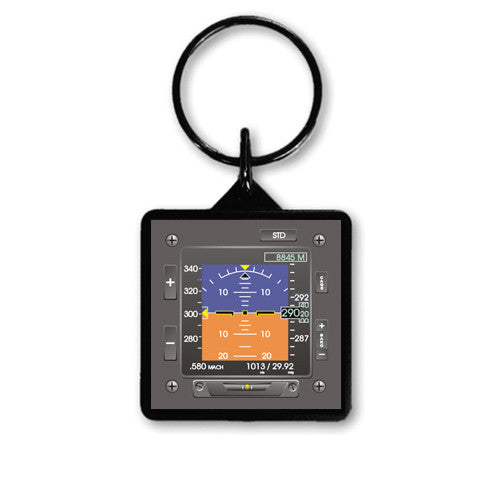 "1.5"" Square EFIS Keychain"