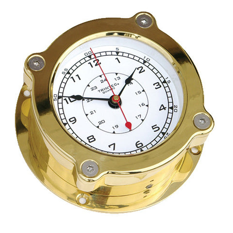 Odyssey Brass Ship's Clock - Trintec Industries Inc.