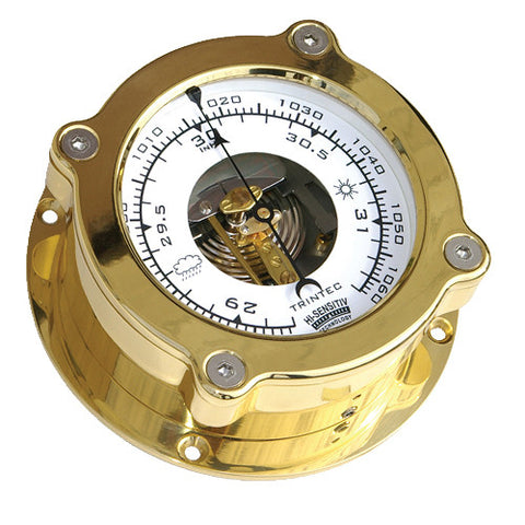 Odyssey Brass Ship's Barometer - Trintec Industries Inc.
