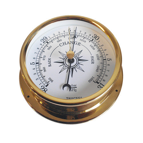 Omni Brass Ship's Barometer - Trintec Industries Inc.