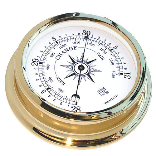 Solaris Marine Brass Barometer - Trintec Industries Inc.