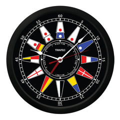"10"" Nautical Flag Time & Tide Clock-B"