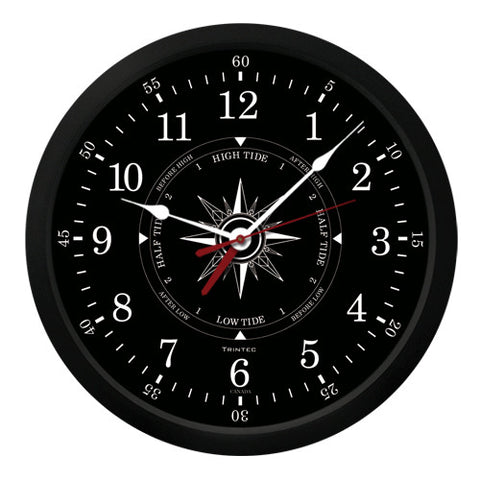 "10"" Atlantic Time & Tide Clock-B"