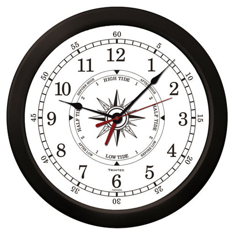 "14"" Atlantic Time & Tide Clock-W"