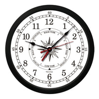 "10"" Atlantic Marine Time & Tide Clock - Trintec Industries Inc."