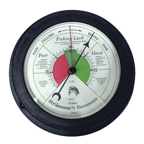 Vector Fishing Barometer