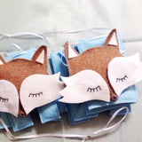 A fox custom name bunting /garland /wall hanging, foxes and custom name garland / bunting