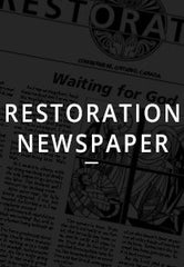 Restoration Newspaper