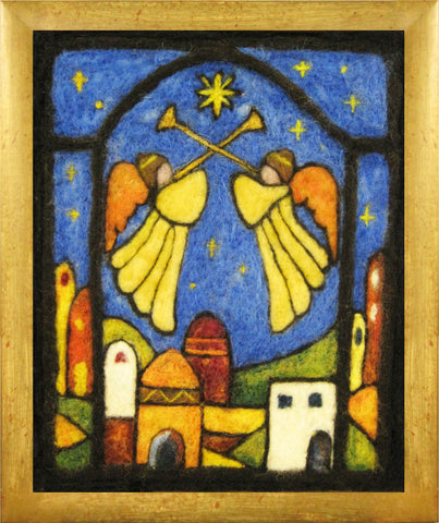 Christmas Cards - Angels Over Bethlehem