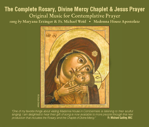 The Complete Rosary, Divine Mercy Chaplet & Jesus Prayer