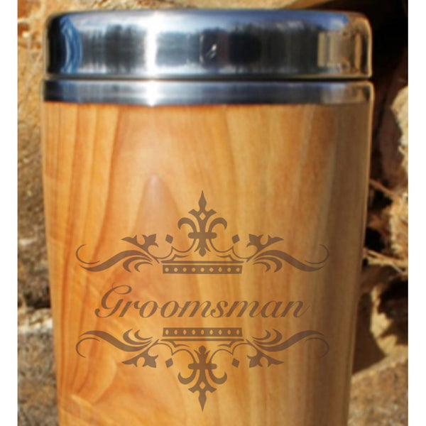 Desktop Mug - Groomsman Gifts