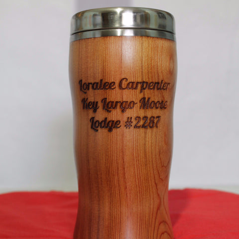 Desktop Mug - Double-Sided Engraved Text