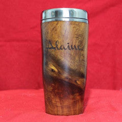 Travel Mug - Double-Sided Engraved Text