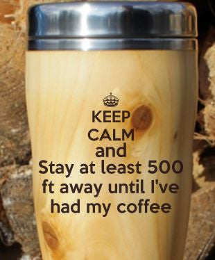 Travel Mug - Keep Calm