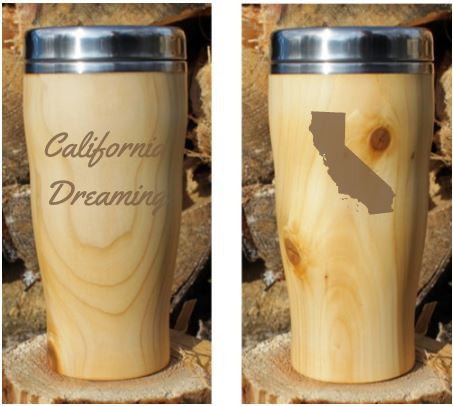 Travel Mug - US States