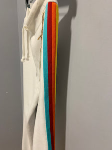 Rainbow Stripe Sweatpants