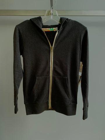 Burnout Zip-Up Hoodie