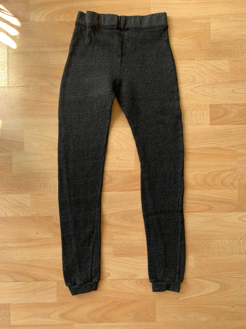 Fleece dark grey sweatpants
