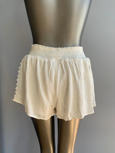 Flowy embroidered shorts