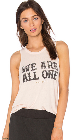 We Are All One Studio Tank