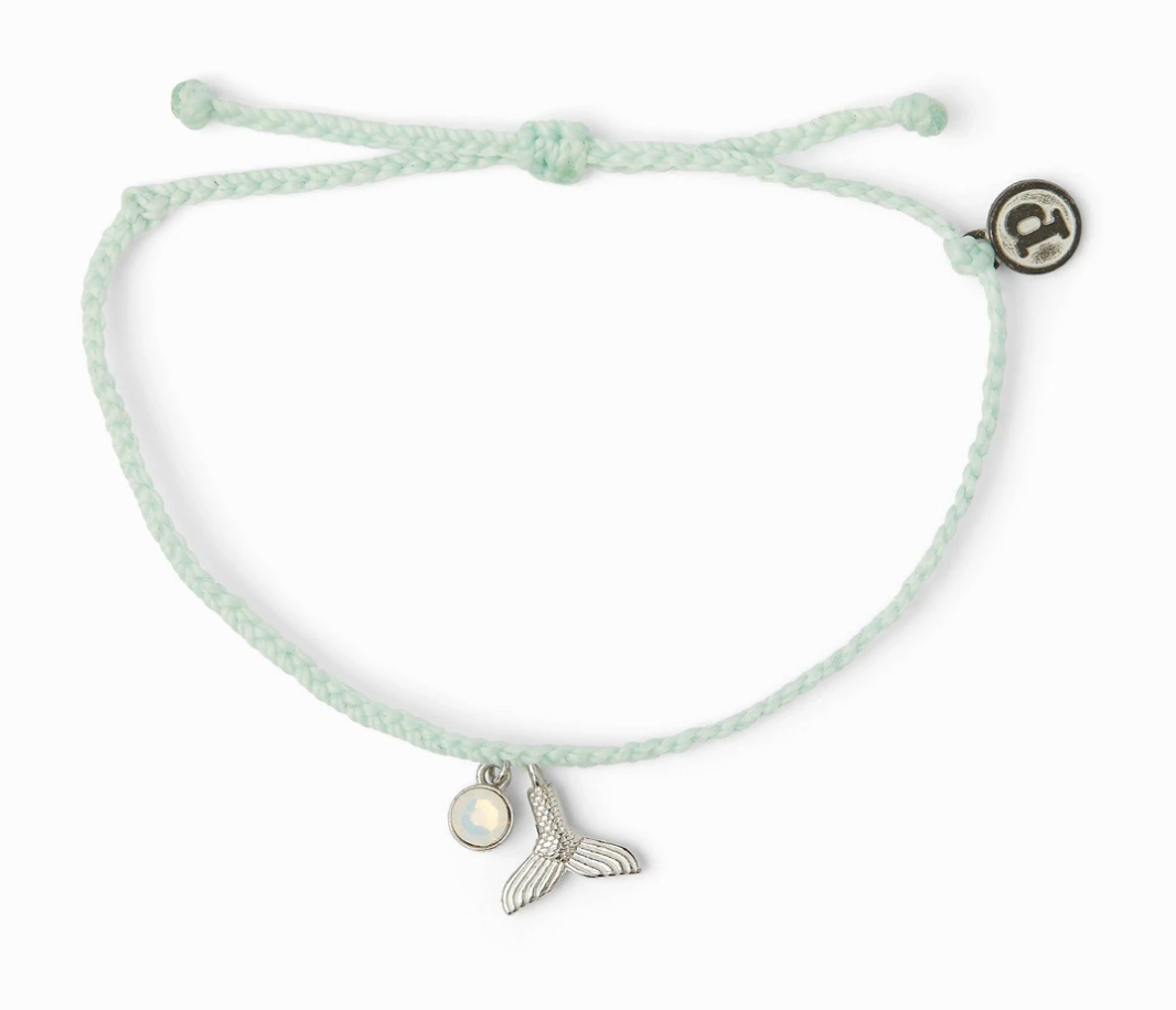 Mermaid fin charm