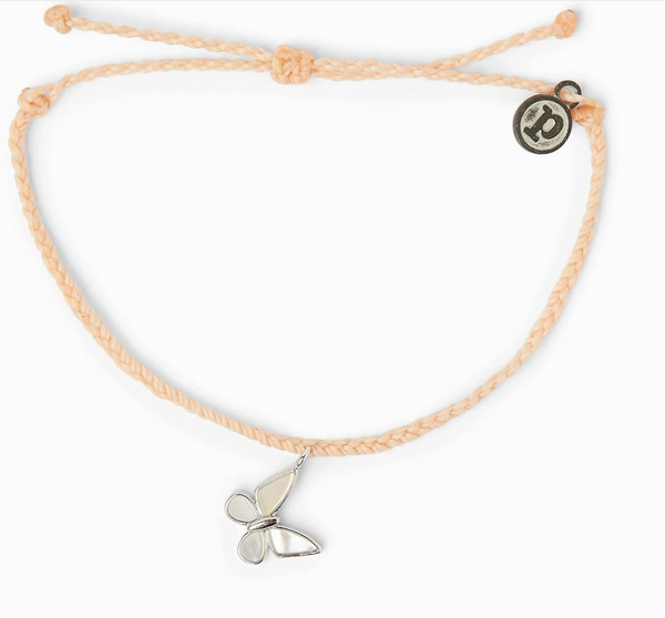 Save the Butterflies Charm (blush)