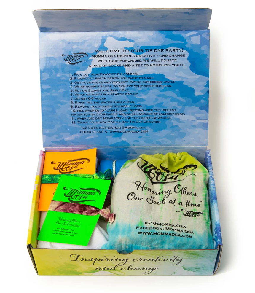 Momma OSA Adventurer Tie Dye Kit