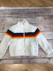 Rainbow Zipper Jacket