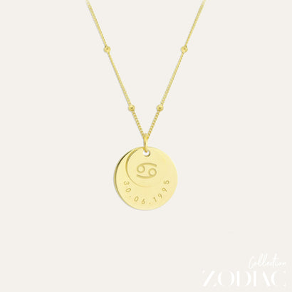 Zodiac Necklace | CANCER