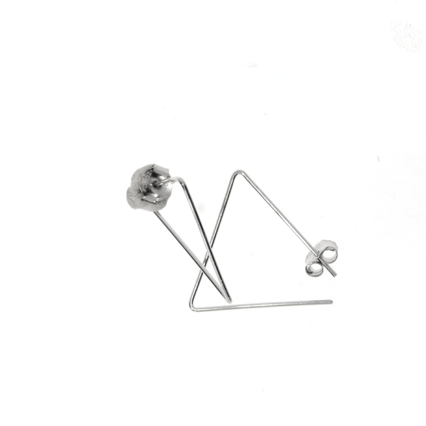 triangle wire hoops