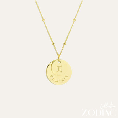 Zodiac Necklace | GEMINI