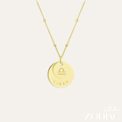 Zodiac Necklace | LIBRA
