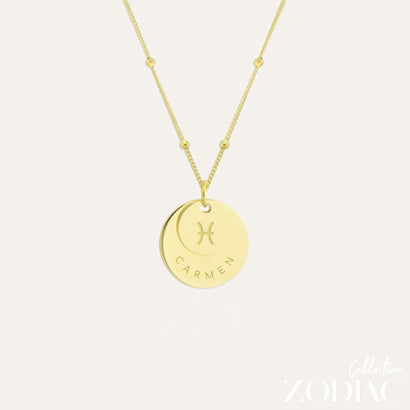 Zodiac Necklace | PISCES