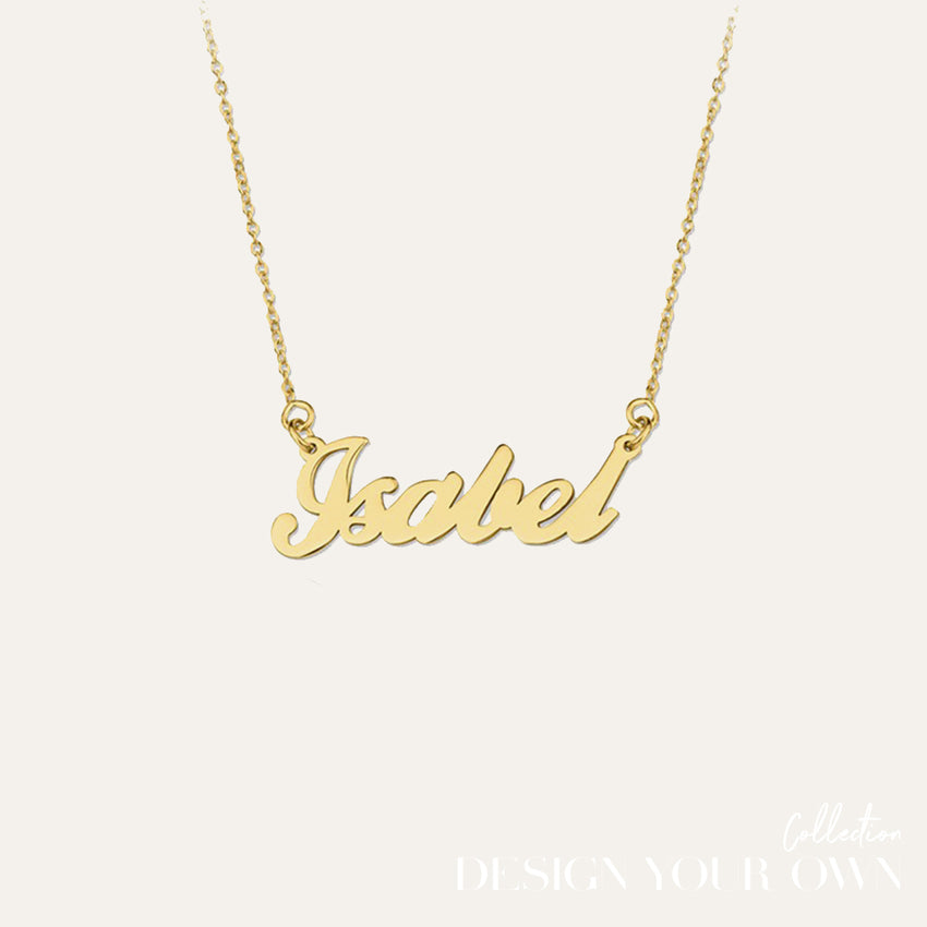 Say it Necklace