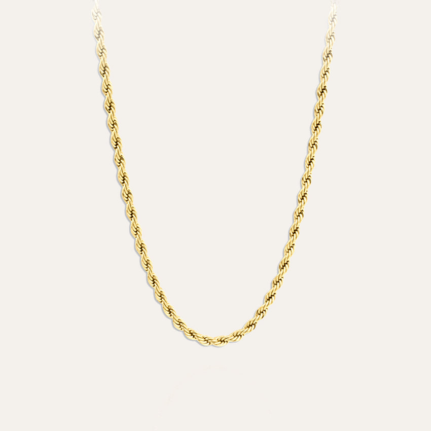 Twisted Chain Necklace 50cm