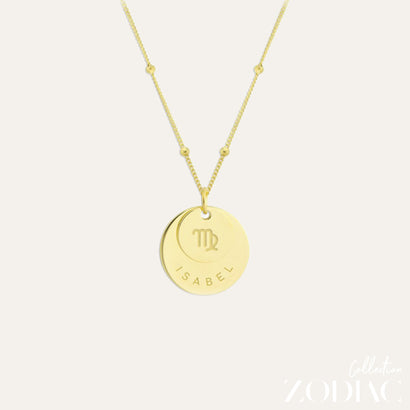 Zodiac Necklace | VIRGO