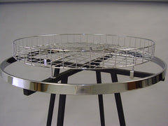 "30"" Round Top Shelf For Round Rack"