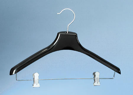 Adult Display Hanger with 2'' Drop Bar| Color| Black