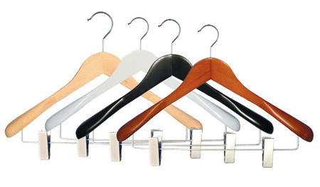 Executive Flare Top Hanger W/ Clips