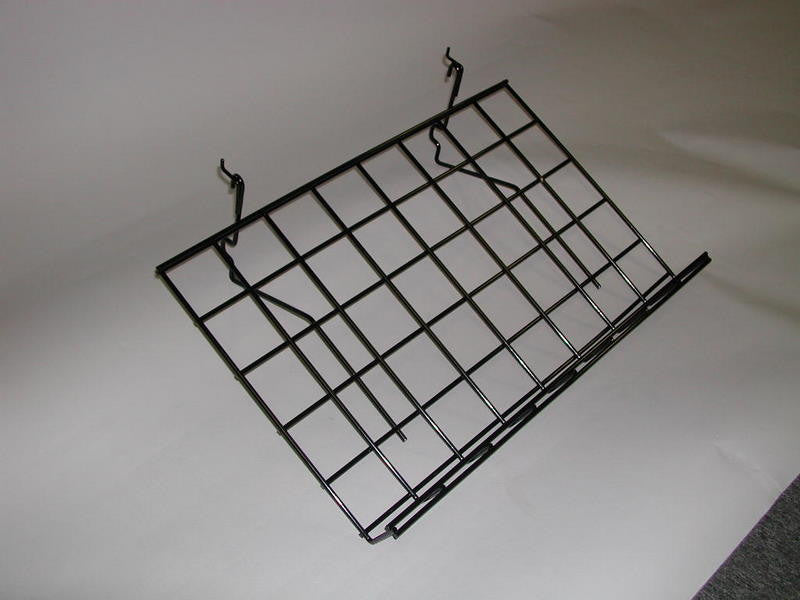 "Grid Slant Shelf 15"" X 24"" With Lip (5 Pack)"