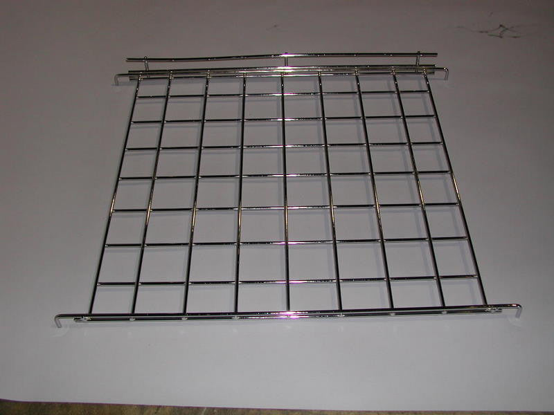 "Grid Straight Shelf 24"" X 24"" With Lip (5 Pack)"