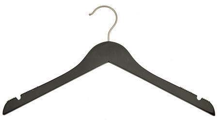 Junior Flat Wood Top Hanger| Color| White