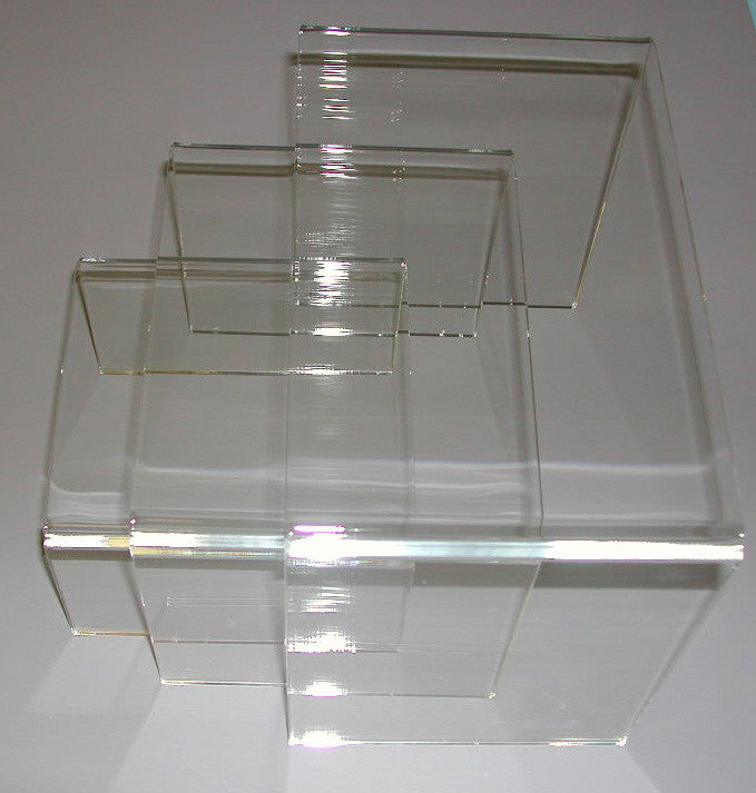 "Risers U Set of 3 (1/4"" Thick)"
